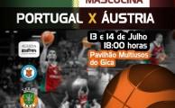 Seleção Nacional de Basquetebol em Águeda!