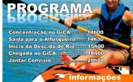 GiCA organiza Descida do Rio no dia 27 de julho