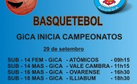 GiCA Inicia Campeonatos