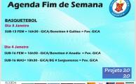 AGENDA DE FIM DE SEMANA