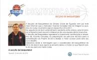 Vicente Gonzalez não irá integrar os quadros do clube na época 2016/2017
