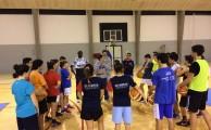 Basquetebol | Treinos com jogadores da Proliga