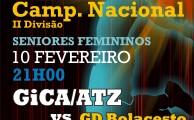 Basquetebol   GiCA/ATZ vs GD Bolacesto - 10 fev, 21h