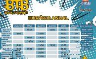 Basquetebol | Horário anuais formação e seniores 2019-2020