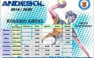 Andebol   Horários época 2019/2020
