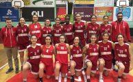 BASQUETEBOL| Atletas do GiCA em trabalho com as selecções da AB Aveiro