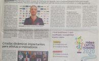 Basquetebol do GiCA em destaque no Diário de Aveiro