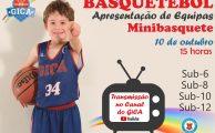 MINIBASQUETE| Apresentação das equipas