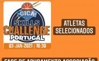 BASQUETEBOL| Skills Challenge - Atletas Selecionados