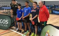 Ténis de Mesa | Damião Domingues nos European Para Youth Games 2019