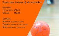 Andebol | Início dos treinos agendado para o dia 8 de setembro