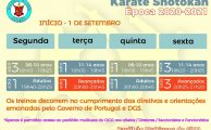 Karaté Shotokan | Horários época 2020/2021
