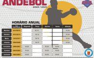 Andebol | Horários 2020-2021