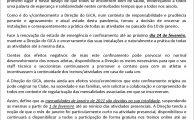 Comunicado da Direção Covid-19