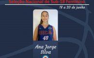 Basquetebol | Ana Jorge convocada para a Seleção Nacional de Sub-18 Feminino
